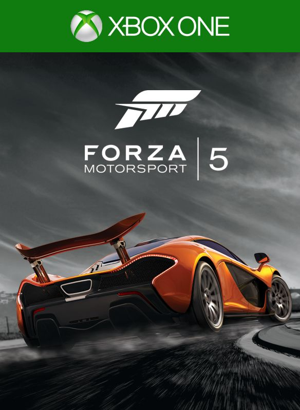 forza motorsport 5 2013 xbox one box cover art mobygames. Black Bedroom Furniture Sets. Home Design Ideas