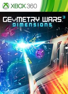 Geometry Wars 3: Dimensions - Evolved (2014) Xbox 360 box ... Xbox 360 Game Cover Size