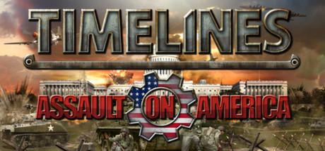 Timelines: Assault on America Linux Front Cover