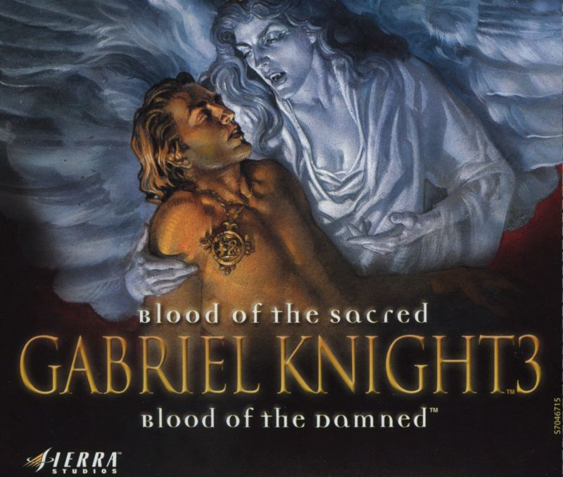 Gabriel Knight 3: Blood of the Sacred, Blood of the Damned Windows Other Jewel Case - Front