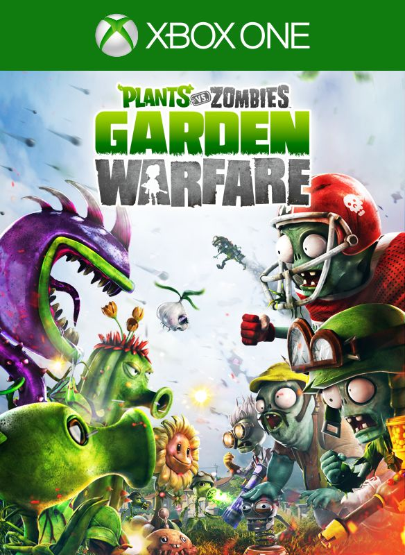 Plants Vs. Zombies: Garden Warfare Xbox One Front Cover