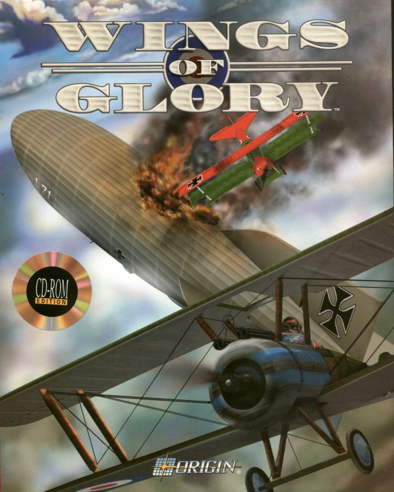 Wings of Glory DOS Front Cover