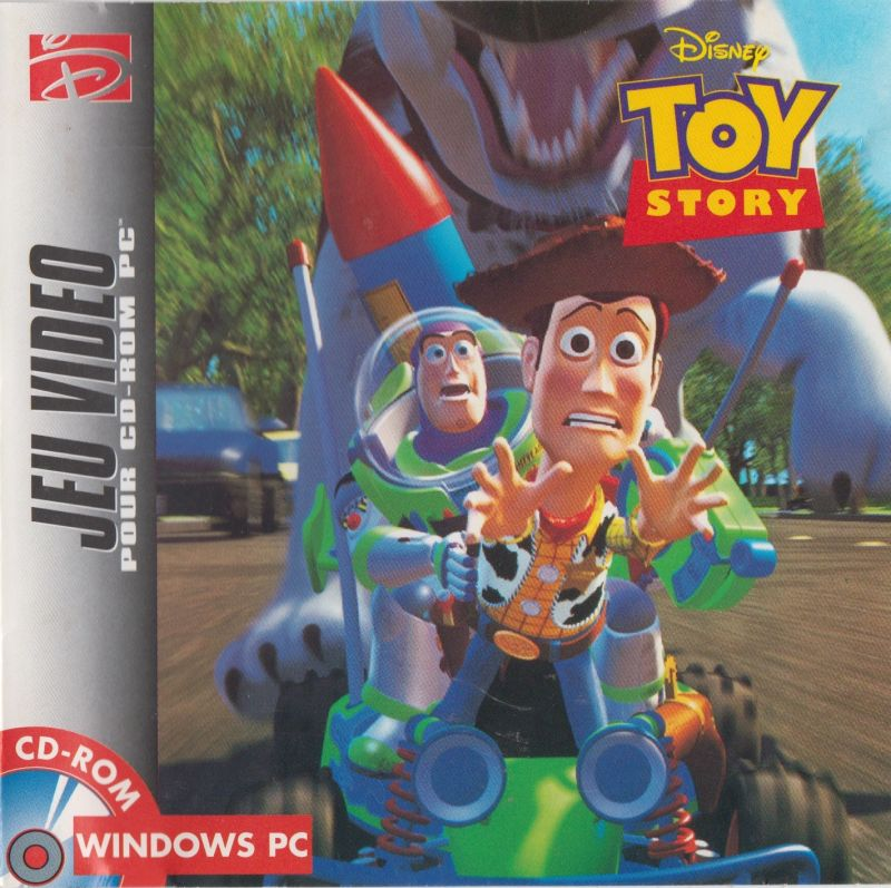 Case Of Toy Story Games : Disney s toy story game boy box cover art mobygames