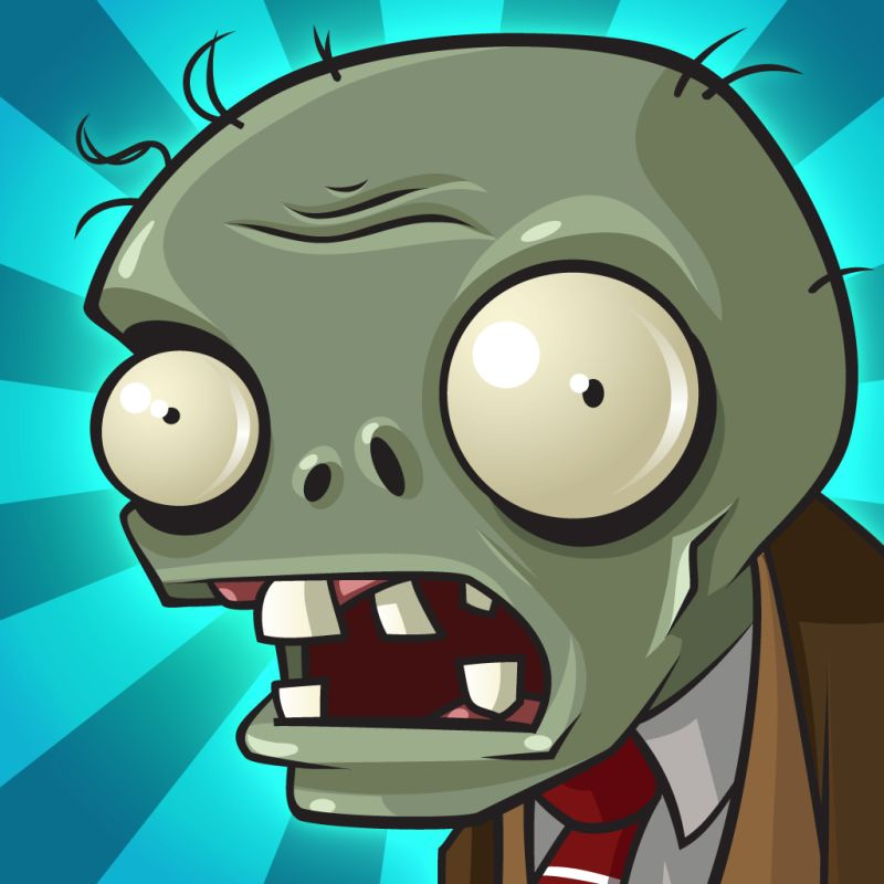 Plants vs. Zombies iPhone Front Cover