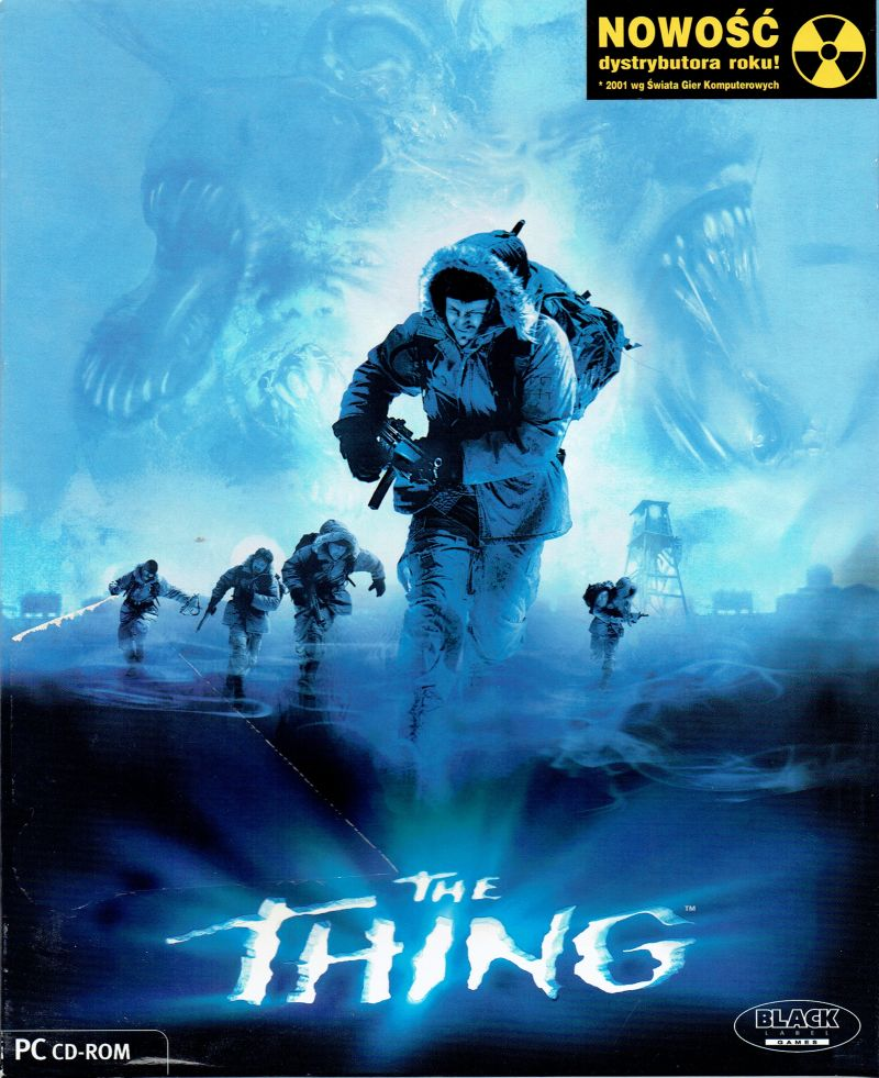The Thing (2002) PlayStation 2 box cover art - MobyGames