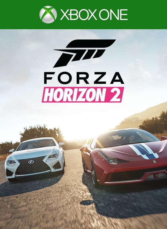 Forza Horizon 2: Top Gear Car Pack Xbox One Front Cover