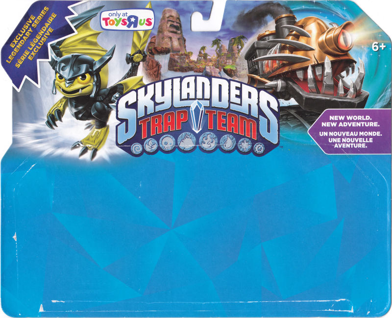 Skylanders: Trap Team - Legendary Nightmare Express Adventure Pack Android Front Cover