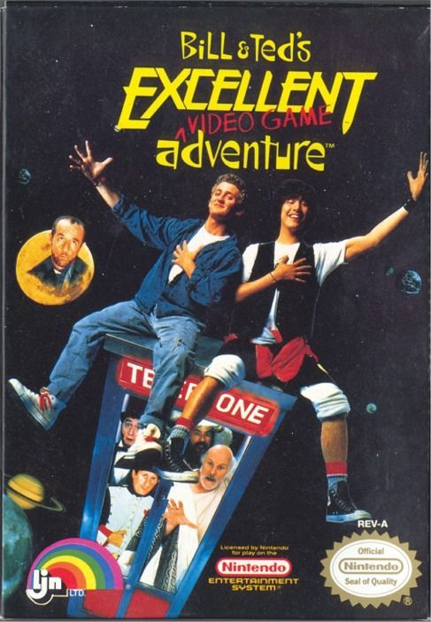 обложка 90x90 Bill & Ted's Excellent Video Game Adventure