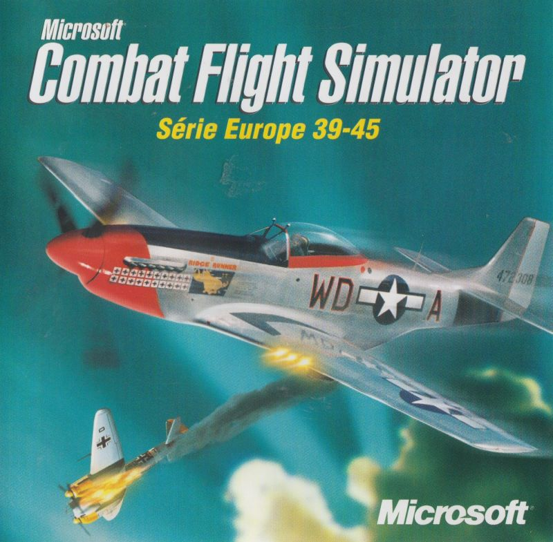 Microsoft Combat Flight Simulator: WWII Europe Series Windows Other Jewel case - Front