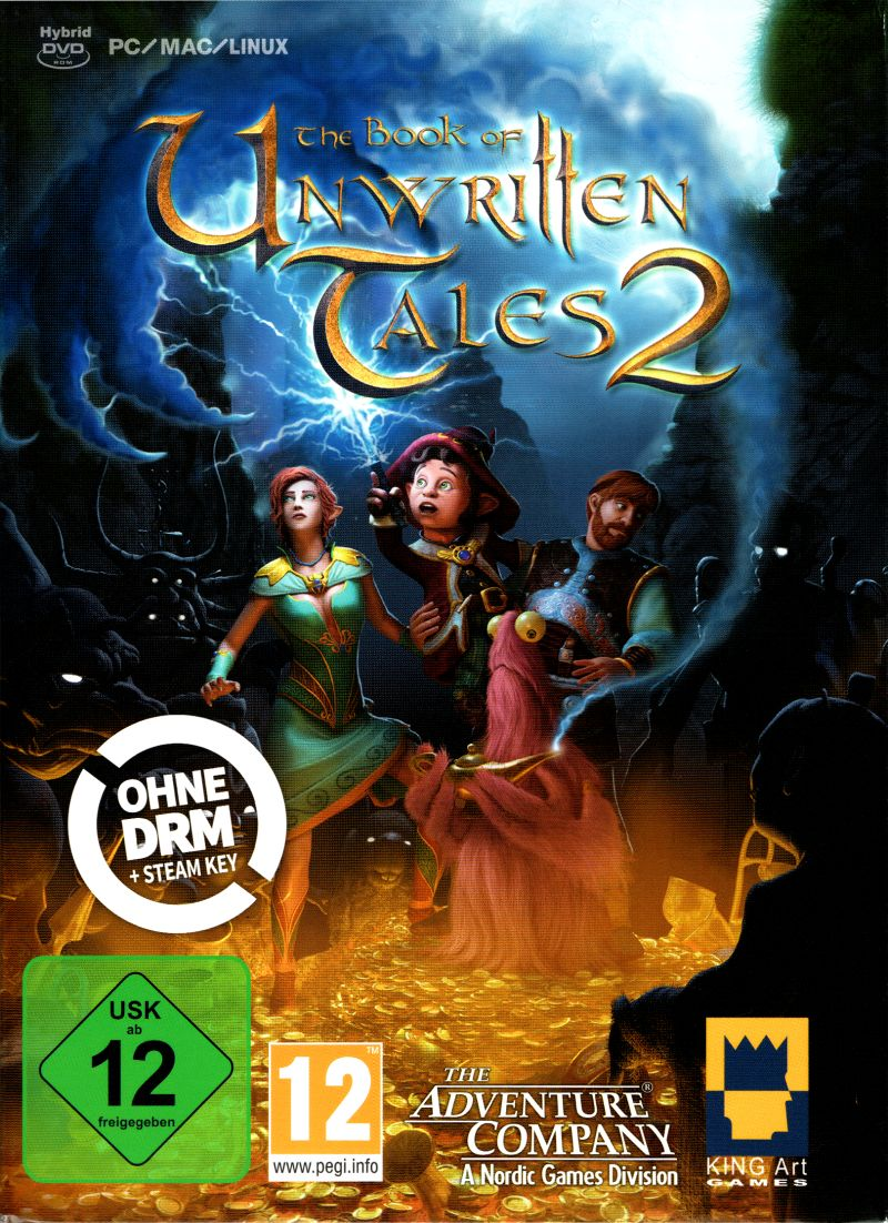 Book Cover Graphism Games ~ The book of unwritten tales android box cover art