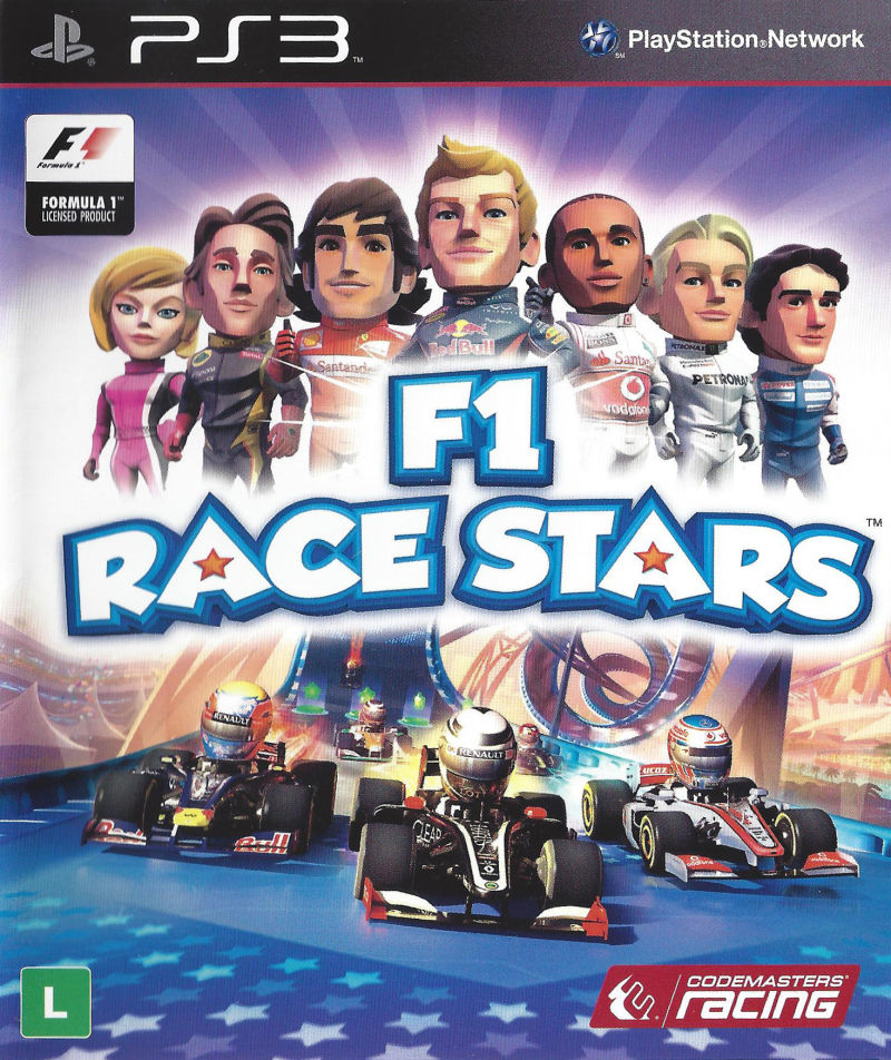 f1 race stars 2012 playstation 3 box cover art mobygames. Black Bedroom Furniture Sets. Home Design Ideas