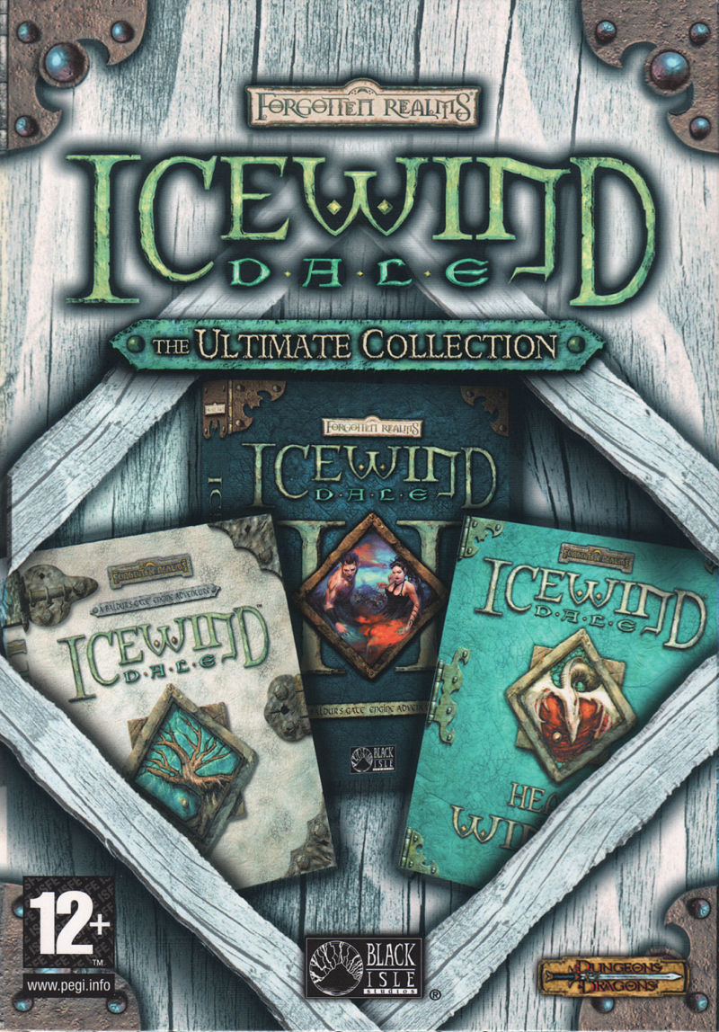 Icewind Dale: The Ultimate Collection Windows Front Cover