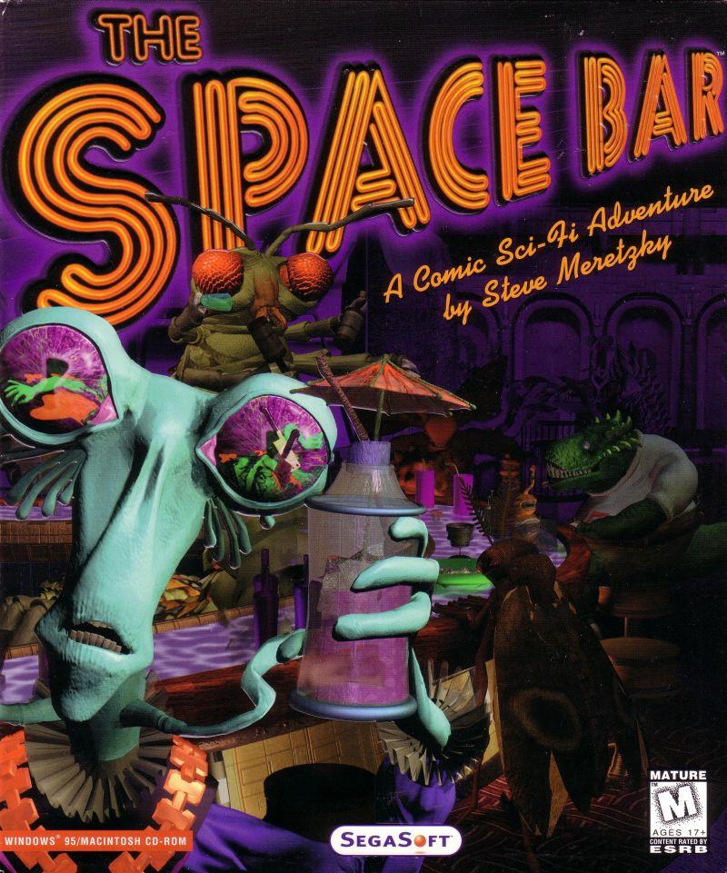 The Space Bar Macintosh Front Cover
