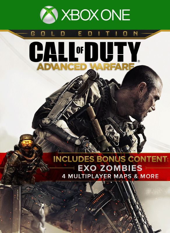 Call of Duty: Advanced Warfare - Gold Edition (2015) Xbox ...