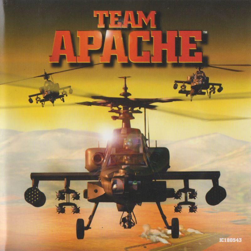 Team Apache Windows Other Jewel case - front