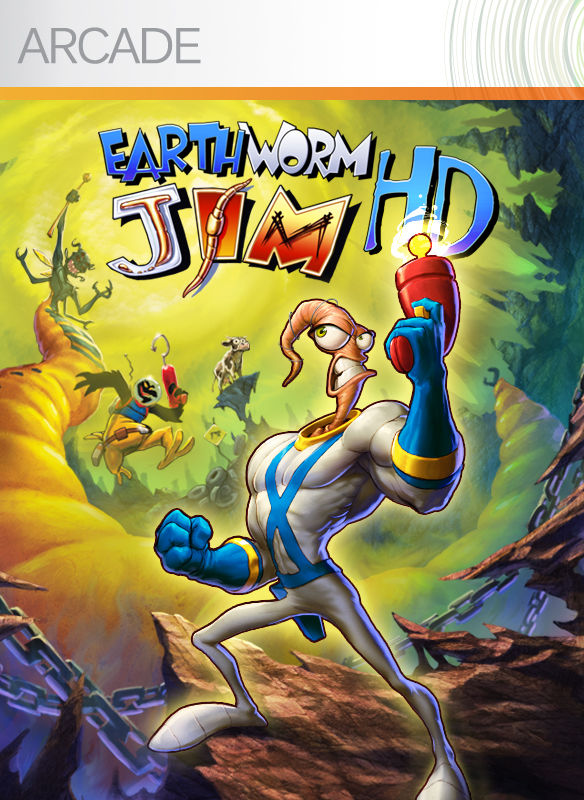 Book Cover Pictures Xbox : Earthworm jim hd for xbox  mobygames