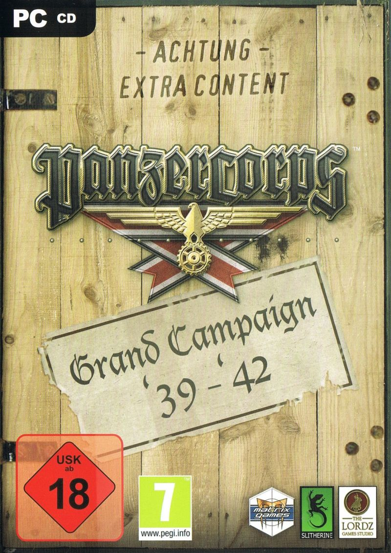 Panzer Corps: Grand Campaign '39-'42