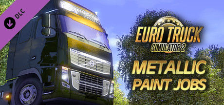 Euro Truck Simulator 2: Metallic Paint Jobs Pack Linux Front Cover