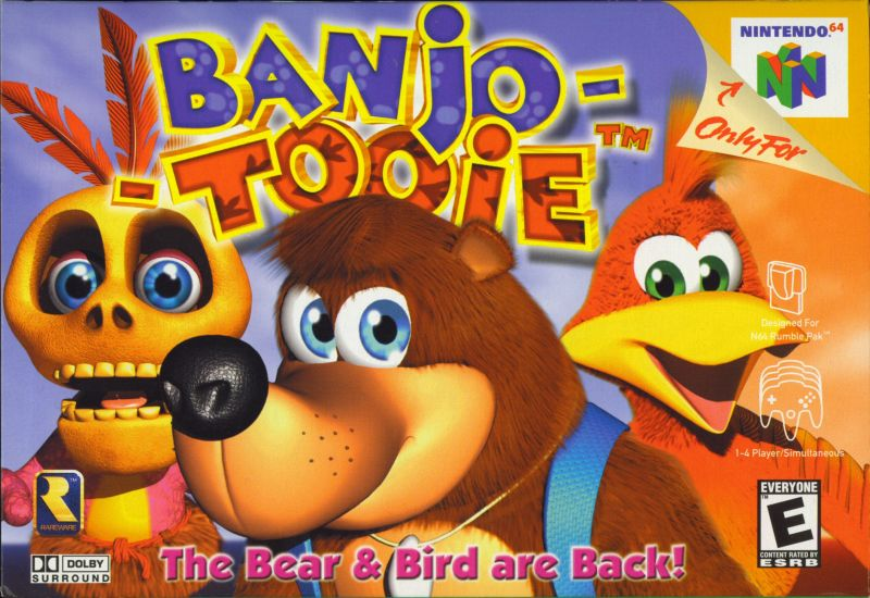 Banjo-Tooie Nintendo 64 Front Cover