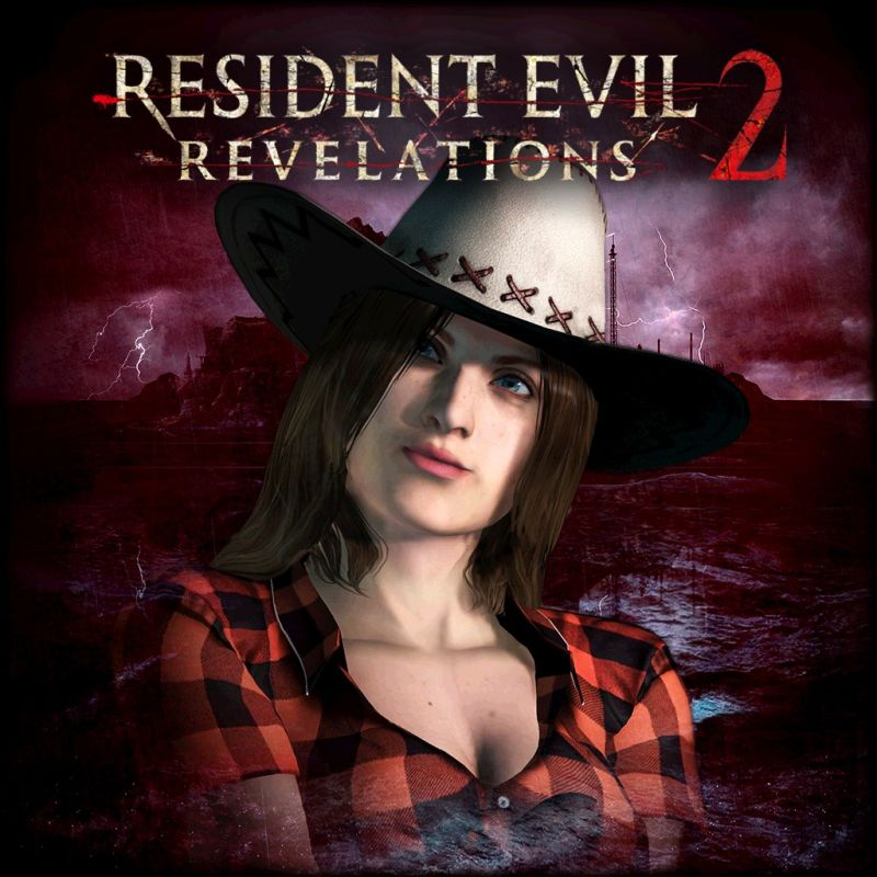 Resident Evil: Revelations 2 - Claire's Rodeo Costume PlayStation 4 Front Cover