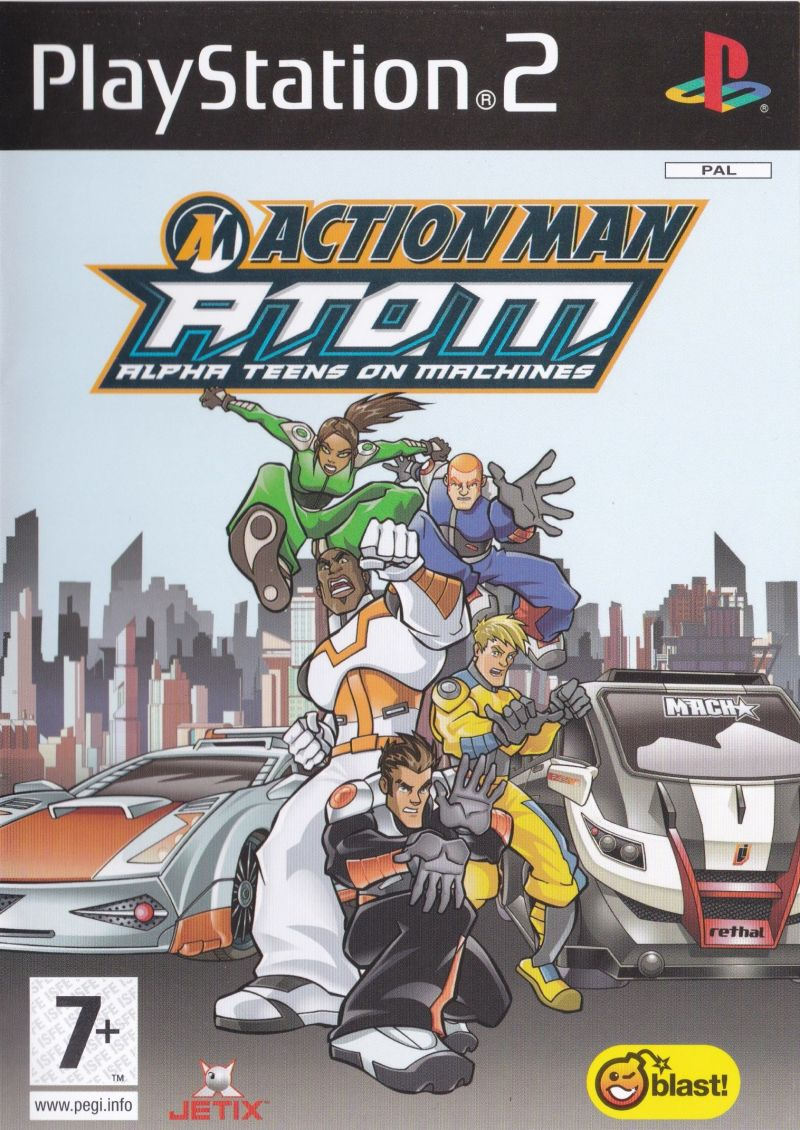 action man  a t o m