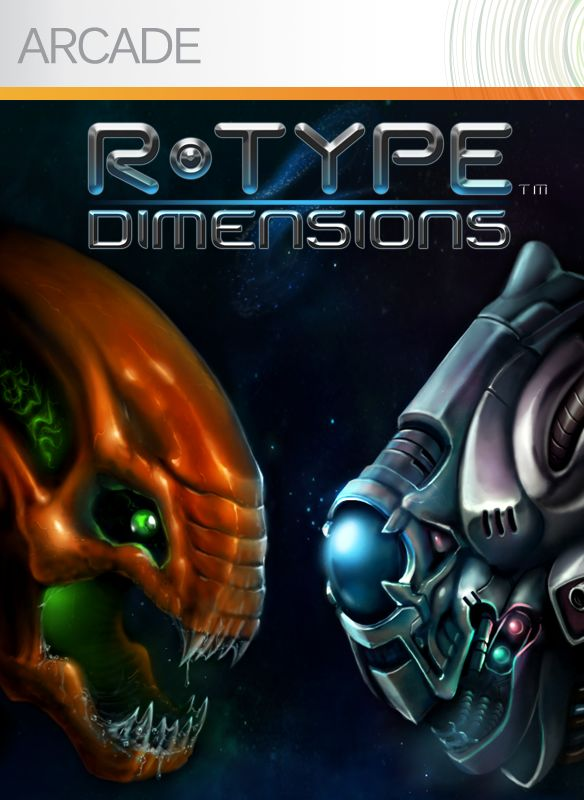 R-Type Dimensions for PlayStation 3 (2013) - MobyGames Xbox 360 Game Cover Size