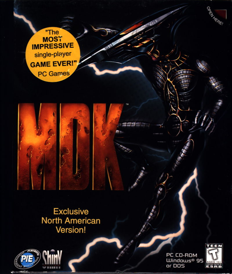 MDK DOS Front Cover