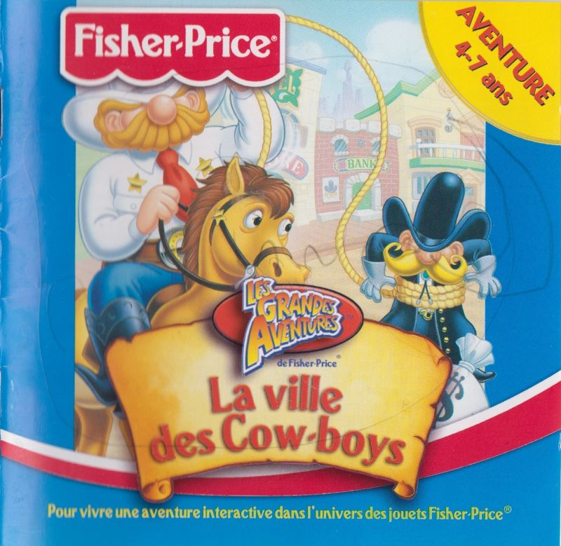 Fisher-Price Great Adventures: Wild Western Town for Windows (1997) MobyRank - MobyGames