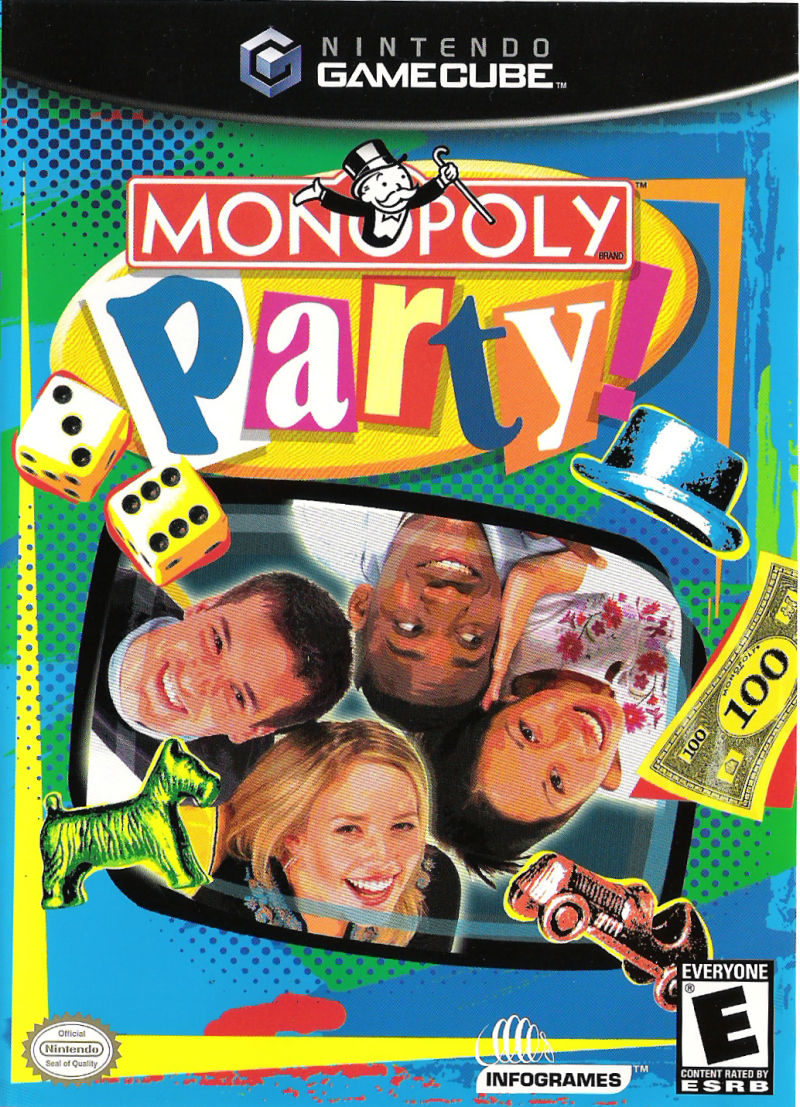 Monopoly Party GameCube Front Cover