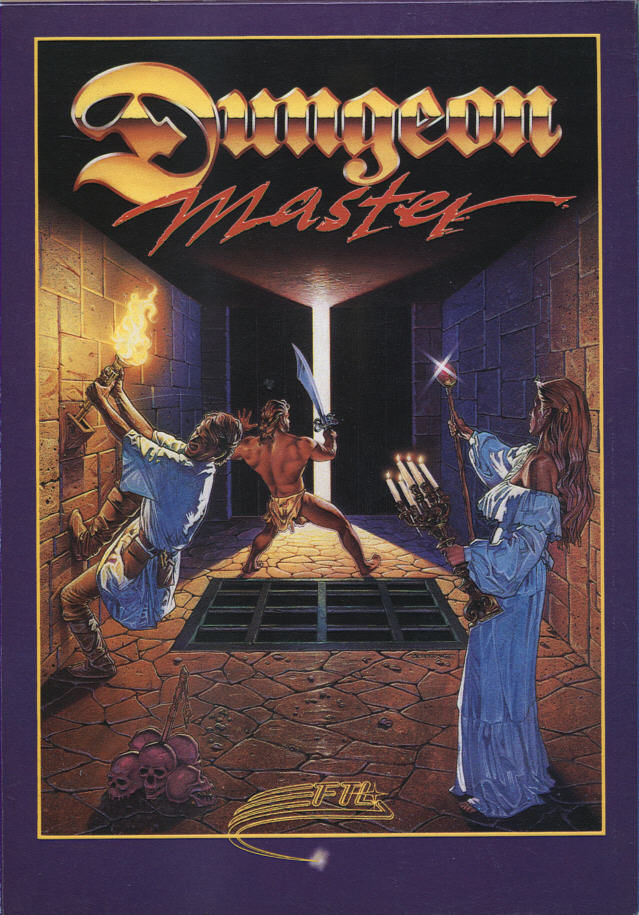 Dungeon Master Atari ST Front Cover