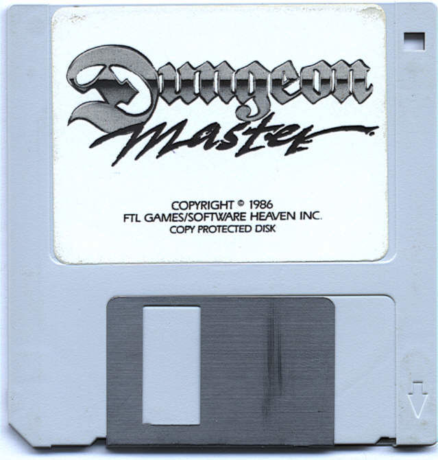 Dungeon Master Atari ST Media