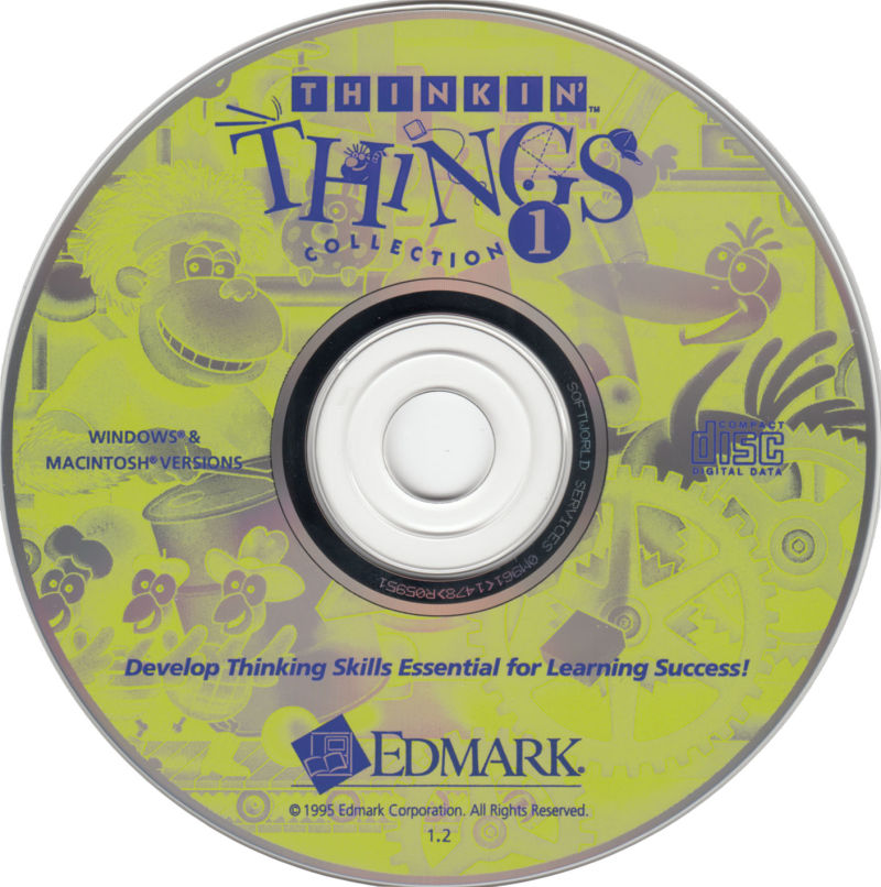 Thinkin' Things Collection 1 Macintosh Media