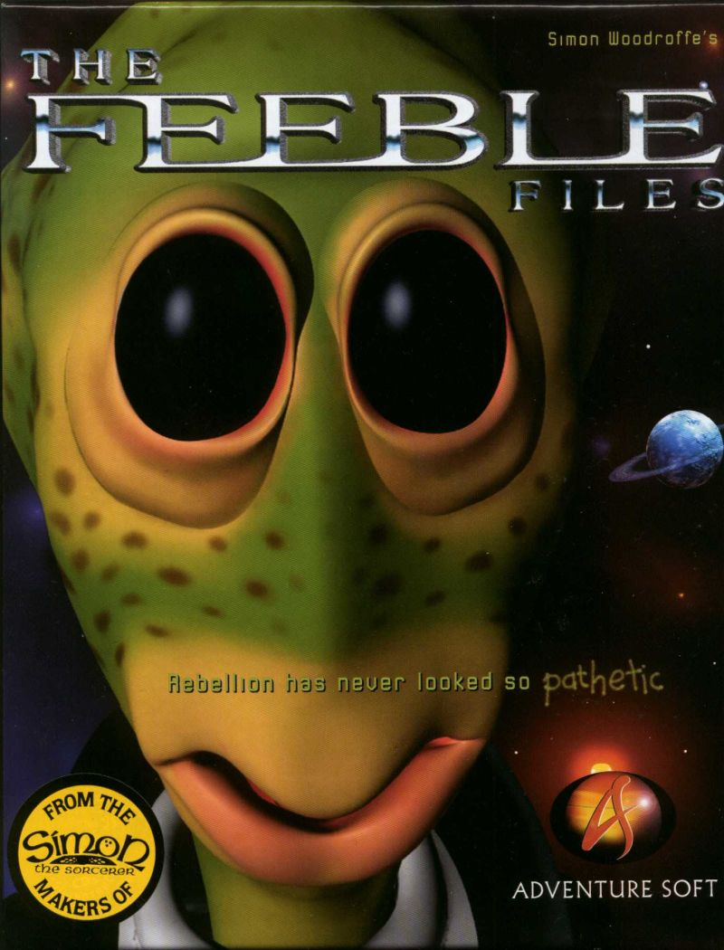 The Feeble Files Windows Front Cover