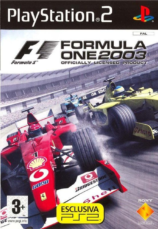 Formula One 2003 For Playstation 2  2003