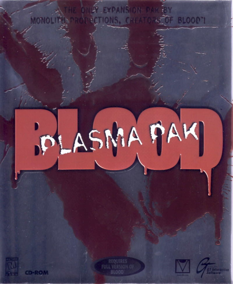 Blood: Plasma Pak DOS Front Cover