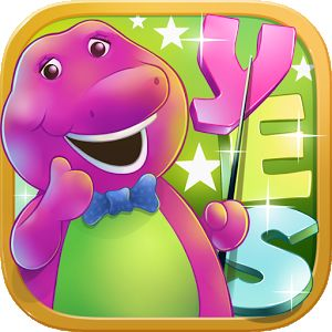 Learn English With Barney Android Front Cover