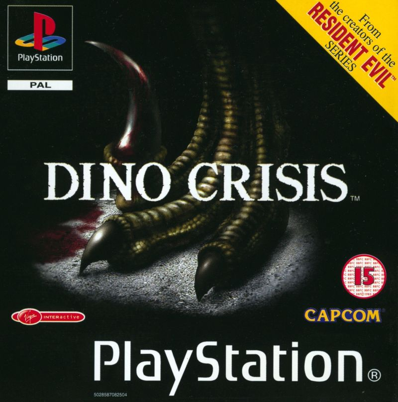 Dino Crisis PlayStation Front Cover