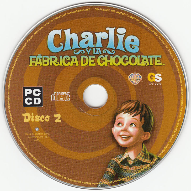 Charlie and the Chocolate Factory Windows Media Disc 2/2