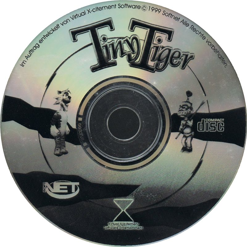 Tiny Tiger (1999) Windows box cover art - MobyGames