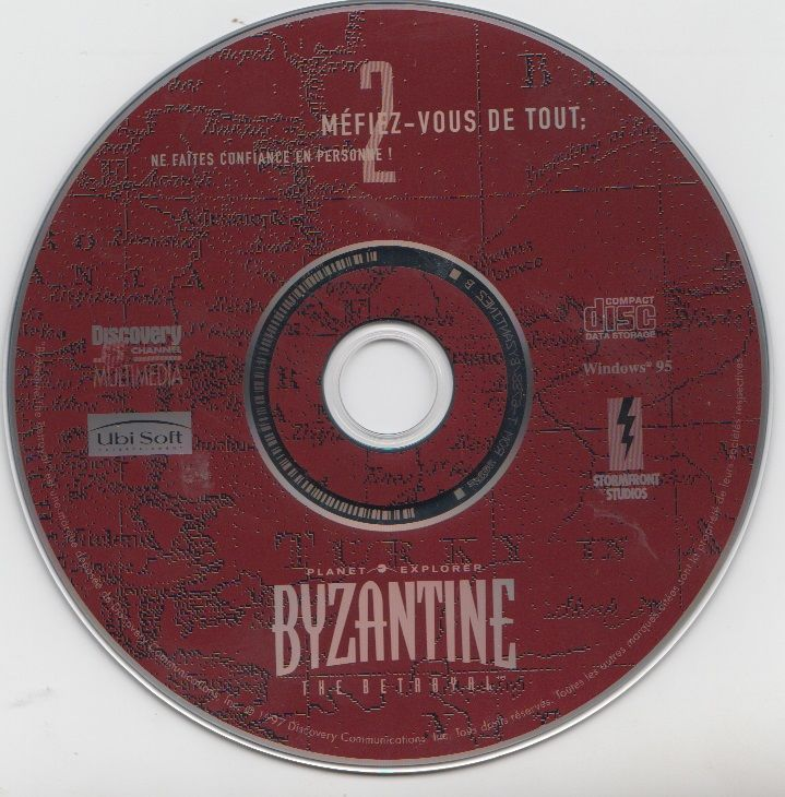 Byzantine: The Betrayal Windows Media Disc 2