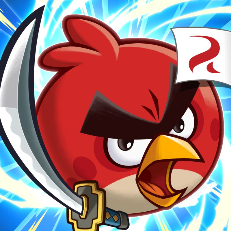Angry Birds: Fight! iPad Front Cover