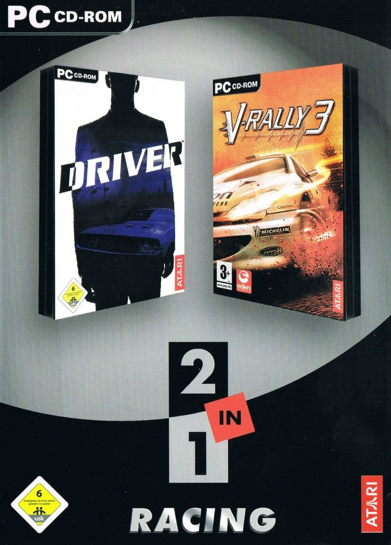 2 in 1: Driver 1 & V-Rally 3