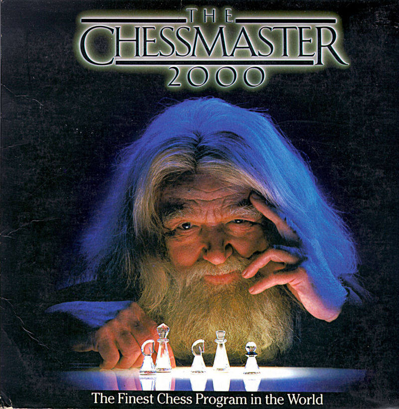 The Chessmaster 2000 DOS Front Cover