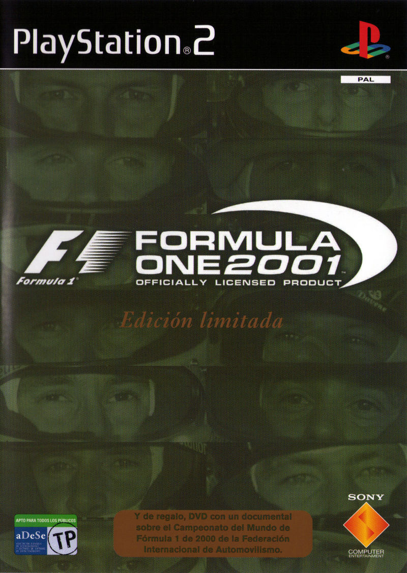 Formula One 2001 (Limited Edition Pack) for PlayStation 2 ...