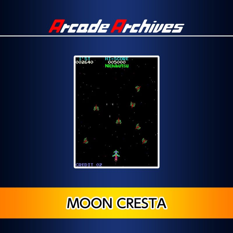 Moon Cresta PlayStation 4 Front Cover 1st version