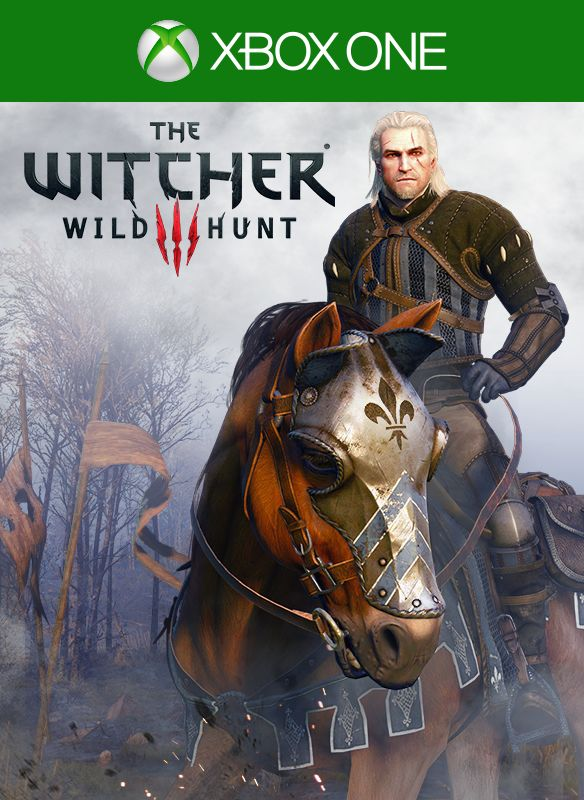 the witcher 3 wild hunt temerian armor set 2015 xbox one box cover art mobygames. Black Bedroom Furniture Sets. Home Design Ideas
