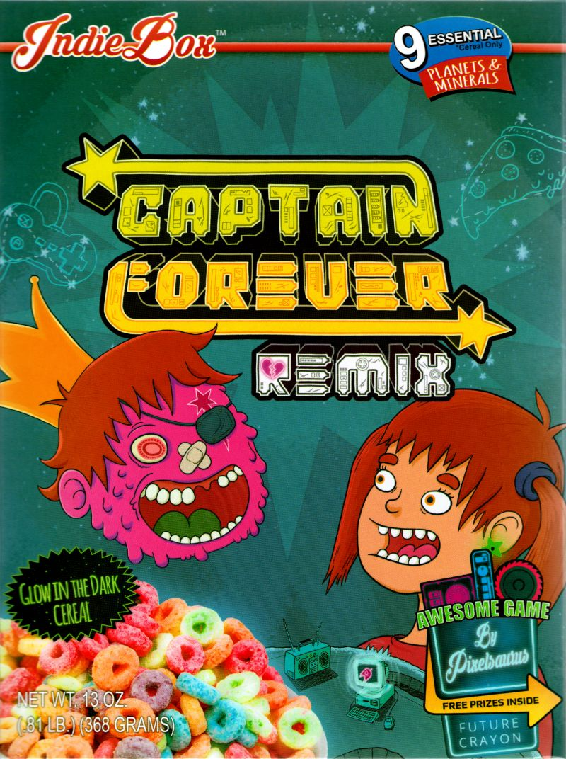 Captain Forever Remix Linux Front Cover
