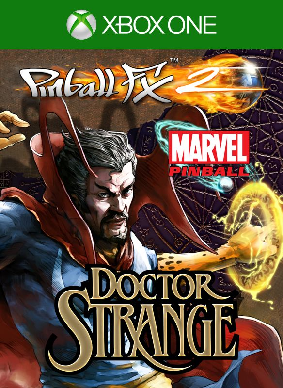 Book Cover Pictures Xbox One : Pinball fx doctor strange xbox one box cover art