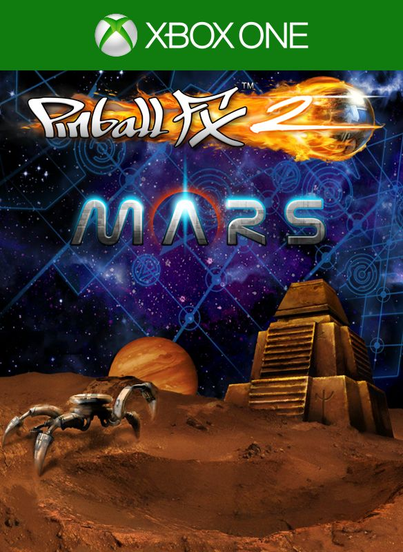Pinball FX2: Mars Xbox One Front Cover