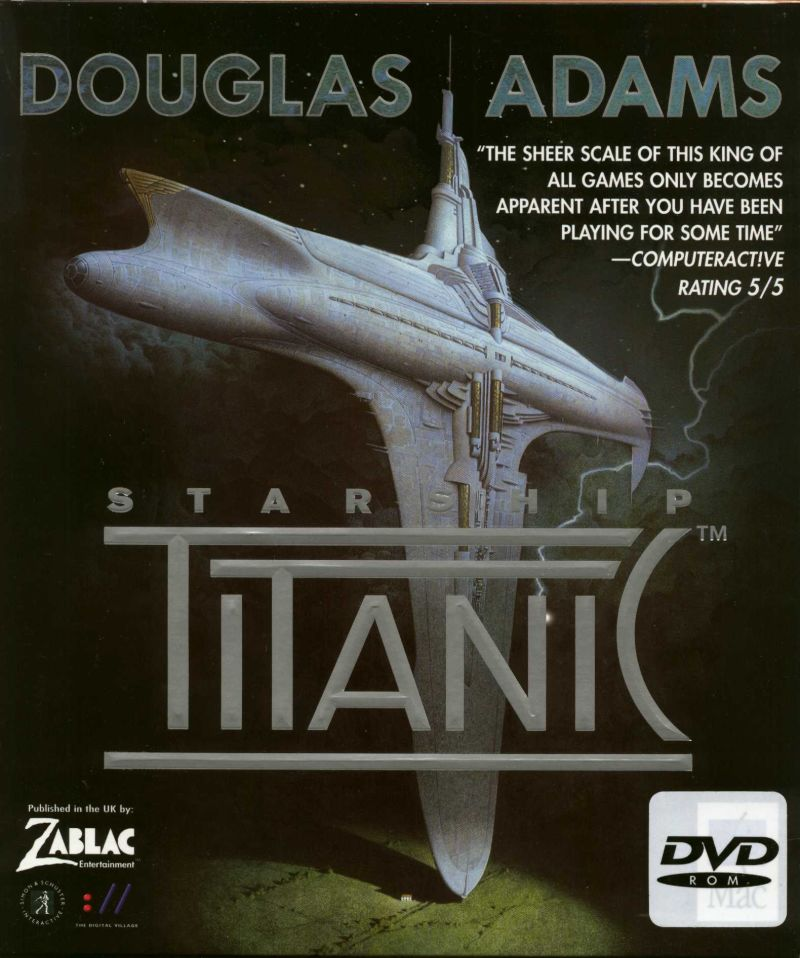 Starship Titanic Windows Front Cover